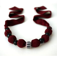 Load image into Gallery viewer, Burgundy Night necklace
