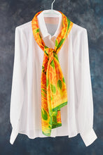 Load image into Gallery viewer, Summer Noon silk scarf