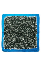 Load image into Gallery viewer, Winter silk kerchief 45cm