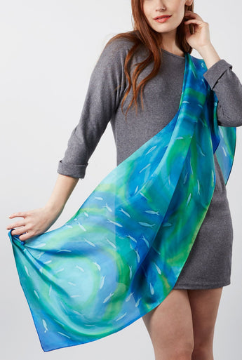 Shallows Fish scarf