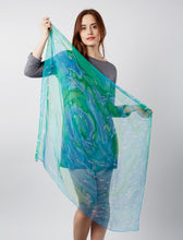 Load image into Gallery viewer, Flitting Fish scarf