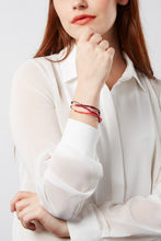 Load image into Gallery viewer, Trine bracelet – red