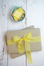 Load image into Gallery viewer, Yellow silk ribbon