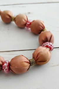 Rose Murano necklace