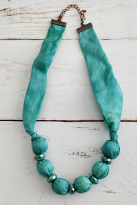 Turquoise Sparkle necklace