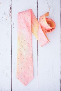 Watercolour Melon tie