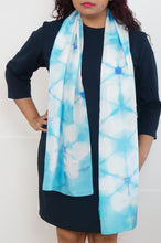 Load image into Gallery viewer, Blue Star scarf