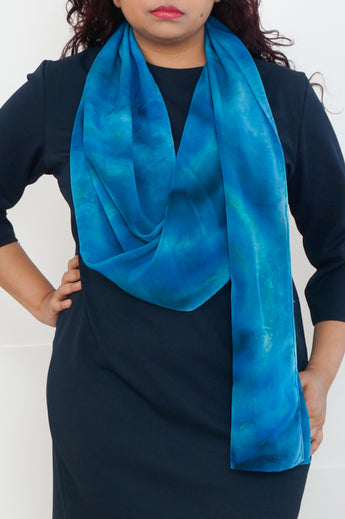 Creeping Fish scarf