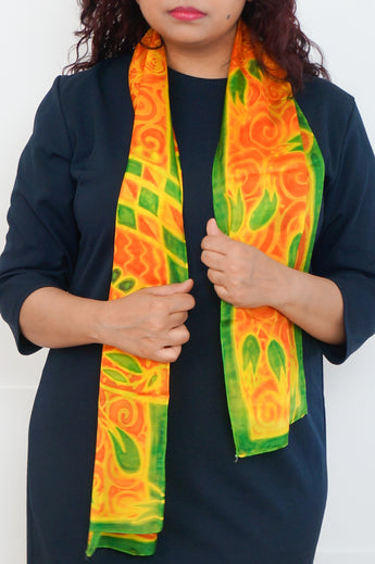 Summer Noon silk scarf