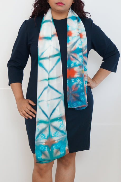 Sunset Waters scarf