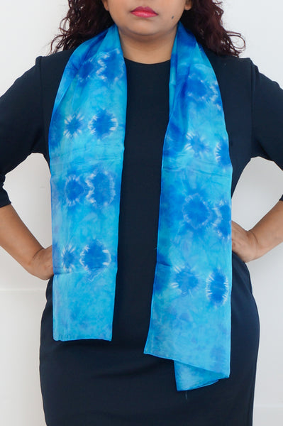 Ocean Blues scarf