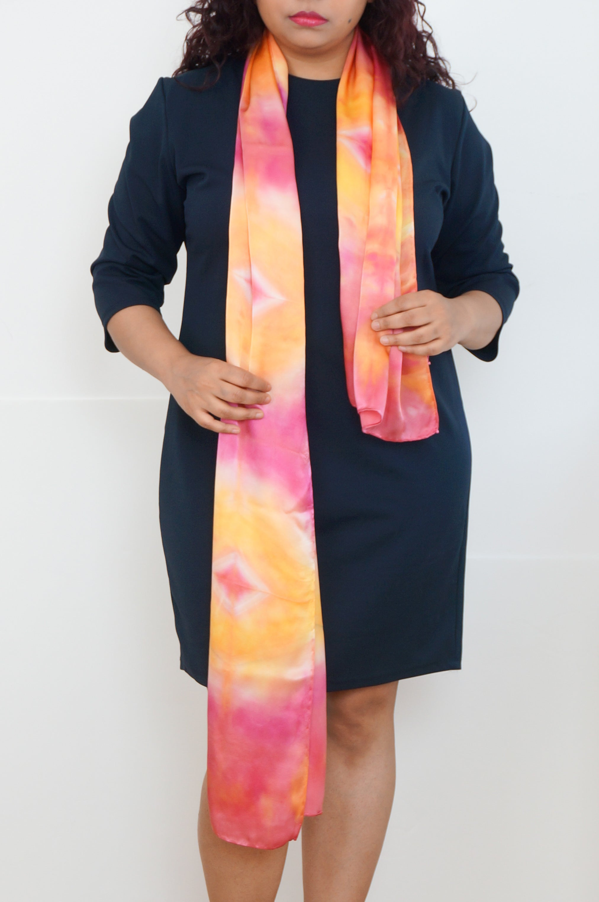 Glowing Sunset scarf
