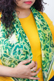 Walled Garden silk scarf