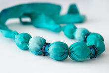 Load image into Gallery viewer, Azure Murano necklace