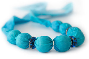Blue Murano necklace