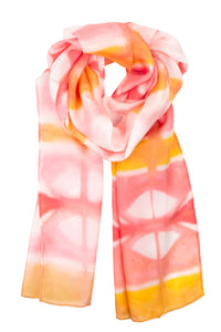 Tribal Sunset scarf