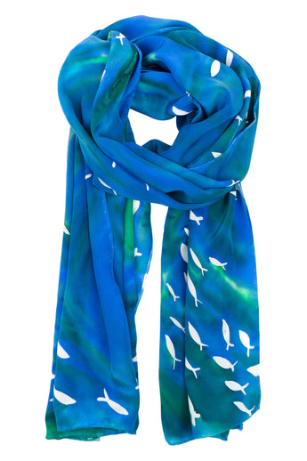 Reef Fish scarf
