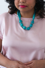 Load image into Gallery viewer, Turquoise Sparkle necklace