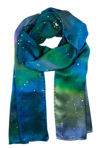 Thumb Eagle silk scarf