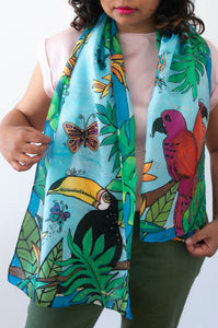 Tropical Dream scarf