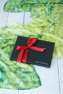 Lime Drops scarf