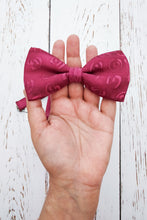 Load image into Gallery viewer, Rose Beau bow tie
