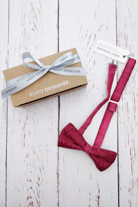 Rose Beau bow tie