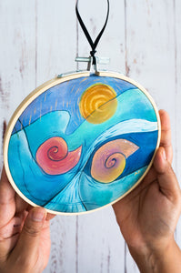 Nautilus Duo wall art