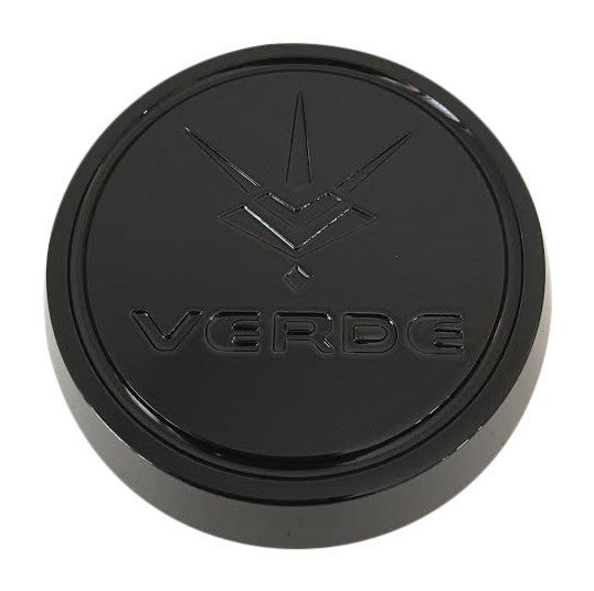 Verde V30 Jaggedge CAP5181-L27 Black Wheel Center Cap - The Center Cap Store