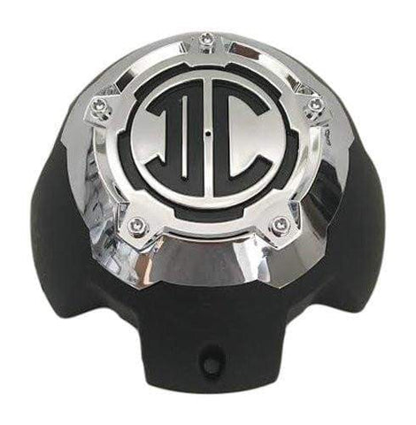 2 Crave Wheels 5H-B Black and Chrome Center Cap - The Center Cap Store