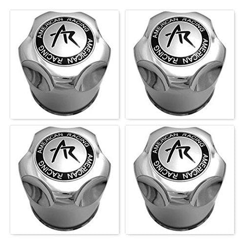 4 Pack AMERICAN RACING 1425000S CENTER CAP 4 Pack - The Center Cap Store