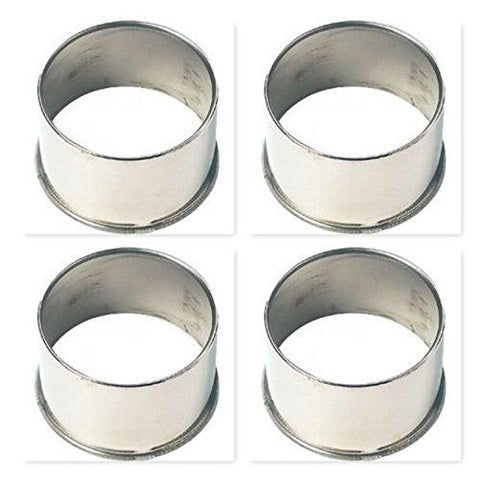 4 Pack AMERICAN RACING 999026 OPEN END STAINLESS CENTER CAP - The Center Cap Store