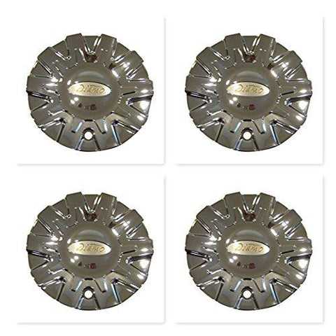 4 Pack Diamo 38 Karat Chrome Wheel Rim Center Cap CAP M-468 S808-05 M468W - The Center Cap Store