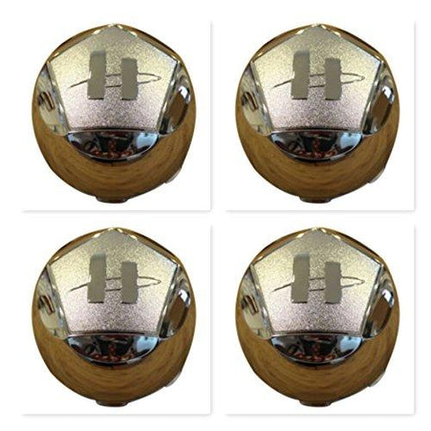 4 Pack Helo Wheels 789K101 Chrome Wheel Center Cap - The Center Cap Store