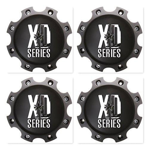 4 Pack KMC XD Series 1079L170MB Wheel Center Cap 8 Lug - The Center Cap Store