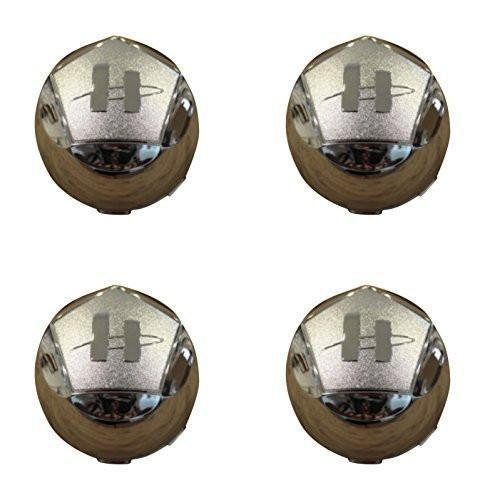 4 X 789K101 Helo Maxx 6 Chrome Wheel Snap In Center Cap Diameter - The Center Cap Store