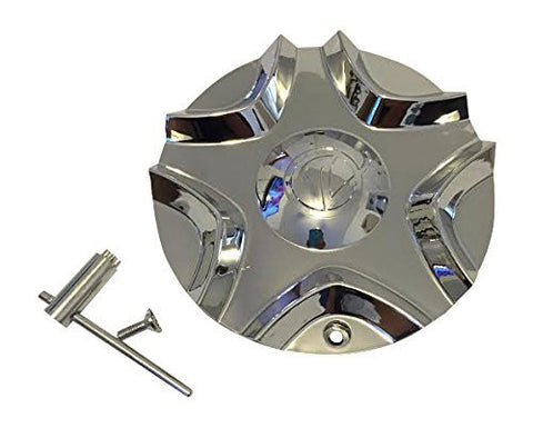 Verde C0373 Chrome Wheel Center Cap - The Center Cap Store