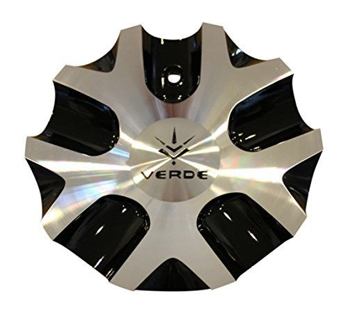 Verde V36 Protocol Black Machine Wheel Rim Center Cap C-V36-B CAP5078 - The Center Cap Store