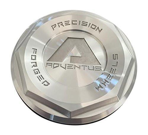 Adventus Precision Forged Wheels 015 Brushed Center Cap - The Center Cap Store