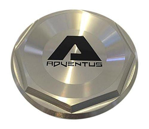 Adventus Wheels AVS2 AVS-2 Wheels ADVCAPPOL Polished Center Cap - The Center Cap Store