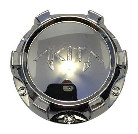 Akita 410 C10410 10931875F-1 Chrome Center Cap - The Center Cap Store