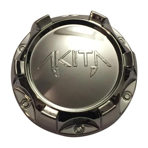 Akita Wheels 10931875F-1 Chrome Wheel Center Cap - The Center Cap Store