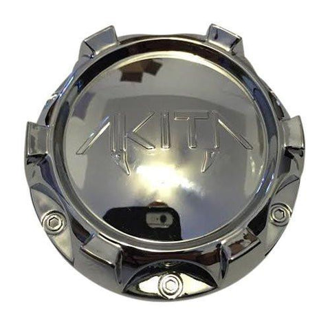 Akita Wheels 5196-2 HZJT07626 Chrome Wheel Center Cap - The Center Cap Store