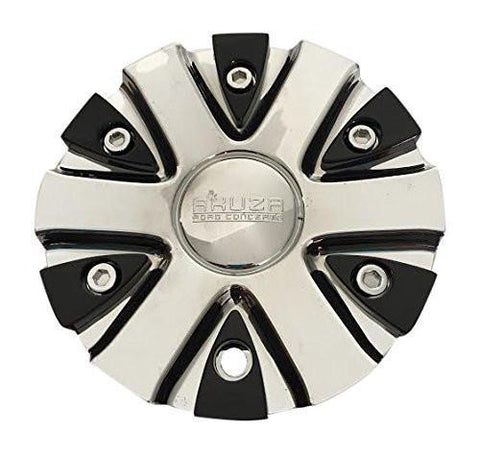 Akuza 712 Big Papi Chrome Wheel Rim Center Cap EMR0712-CAR-CAP LG0610-53 - The Center Cap Store
