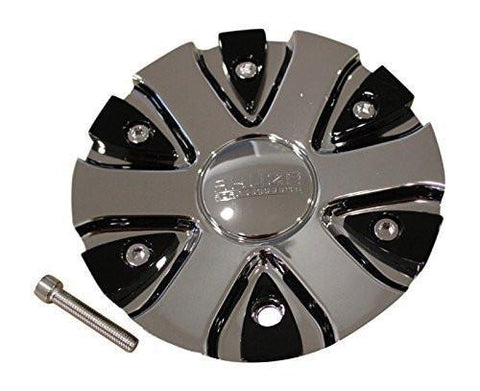 Akuza 712 Big Papi Chrome Wheel Rim Center Cap EMR0712-TRUCK-CAP LG0610-54 - The Center Cap Store