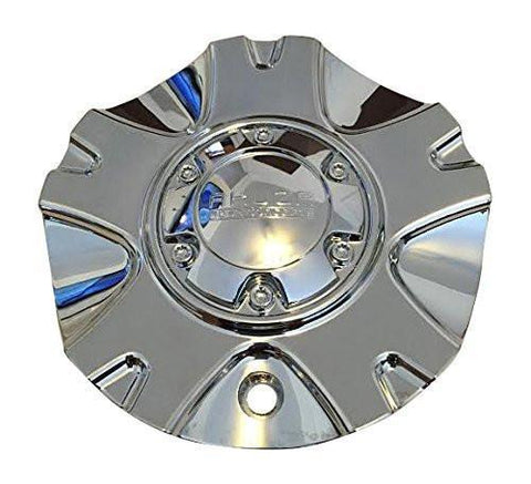 Akuza AK325 PASS S503-21 X1834147-9 SF Chrome Wheel Center Cap - The Center Cap Store