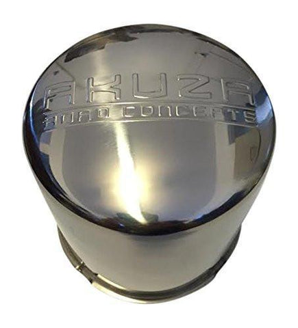 Akuza B108-AKUZA Chrome Six Lug Center Cap - The Center Cap Store