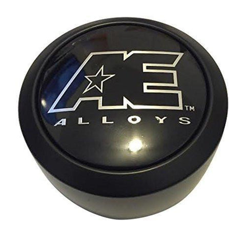 American Eagle AE Alloys 3307 AEWC 3307-02 Black Wheel Center Cap - The Center Cap Store