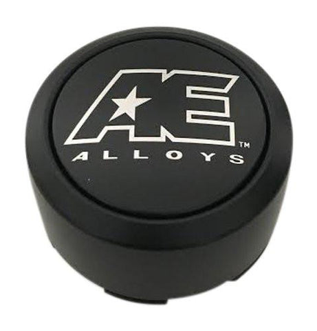 American Eagle Wheels 3355 AEWC Matte Black Wheel Center Cap - The Center Cap Store