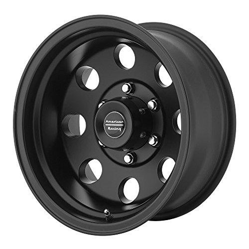 "American Racing Custom Wheels AR172 Baja Satin Black Wheel (16x8""/6x139.7mm, 0mm offset) - The Center Cap Store"